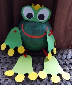 Froschkönig als Laterne