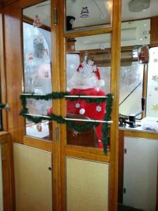 Weihnachtsstraßenbahn